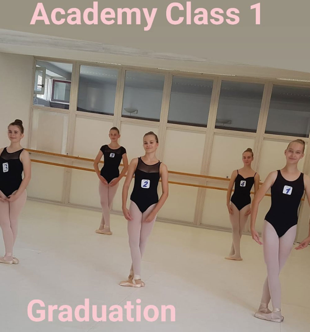 Ballettakademie am Theater Konstanz, Graduation Class I